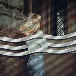 aesthetic girl shadow freetoedit eccolorfulwaves colorfulwaves