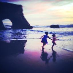 naturalbridgesbeach highway1 pacificcoasthighway santacruz beach dusk pcshadows shadows freetoedit