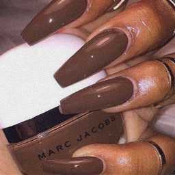 freetoedit nails brown