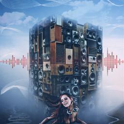 freetoedit sound vibes djgirl console