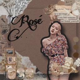 parkroseanne rosé blackpink edit kpop