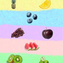 comesaludable fruta summer freetoedit
