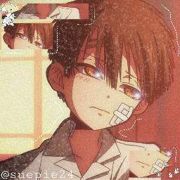 hanakokun amaneyugi jibakushounenhanakokun anime animeaesthetic animeicon freetoedit