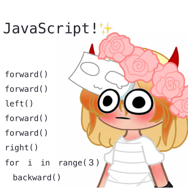 Yes hello dear children✨ Yes- JavaScript-   It's fun-  I was supposed to post this yesterday but i didnt have any time 😩✋  Yes yes MY NEW OC 💕✨ I am lowkey in love with it tbh... 😳👉👈 The redish hair is how my hair looks like irl UvU  Okey okey have fun rest if the day!!   🍄✨ Amazing people that can edit like Gods yes follow: @-floofy @wisteria_skies @-sxlv3r__ @strawberrigutz_____ @jadxn- @_mooberruwu_ @__m0nster @__antiqii   I dont have a lot of people to tagg because they are inactive or deleted their accounts   🎈✨Other cool children/random tags: @psychic_friend_fred @-_bxby_angxel_- @jana_catqueenxx @golden_dogboy @ocean_flames @__ch0mperz   Baibai!! I just got done with school UvU 🎉🧸  #javascript #mynewoc #iaminlovewithmynewoc #newoc #uwu #owo #ovo #uvu #funnyface #gacha #gachaclub #gavhacluboc #oc #barelyedited