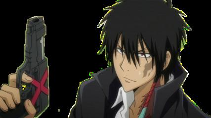khr katekyohitmanreborn katekyo hitman reborn x xanxus edit anime manga gun hot freetoedit
