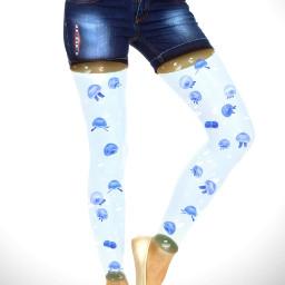 freetoedit manipulation madewithpicsart surrealism creative jellyfish girl legs colochis89 heypicsart happy heypicsart