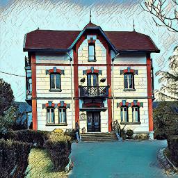 house comiceffect artistic urdaibai