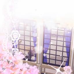 fondosdepantalla arboles dia cerezos ventana reino princesas nubes anime manga otakus oraku otakugirl otakuboy otakuforever