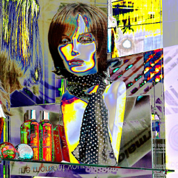 photography mannequin wig scarf dummy reflection rtfartee myphoto myedit curvestool colourchange