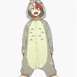 yeah ididntmakethis ididntdrawthis tododeku4ever tododeku todoroki totoro cute anime manga onesie imsotired