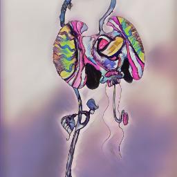 flower watercolor art