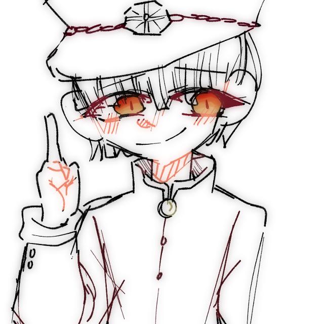 What happens when I draw with my left finger #hanako_kun