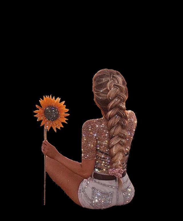 #girl #woman #beautiful #beauty #beautiful #pretty #love #lovely #sparkle #sparklinggirl #sparkles #sparkleeffect #sunflower #braid #blonde #flower #floral