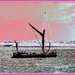 photography travel holiday seaside boat sea land rtfartee myphoto myedit curvestool colourchange