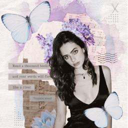 collage collageart purple pastel butterfly succulent paper vintage vintageaesthetic aesthetic purpleaesthetic art old inspiration freetoedit