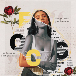 4contest10k collage collageart roses yellow aesthetic focus focusing art vintage graphicdesign inspirational motivation quote newspaper rippedpaper freetoedit