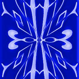 sfghandmade blue icy iceblue design scrolls victorian picsarteffects freetoedit