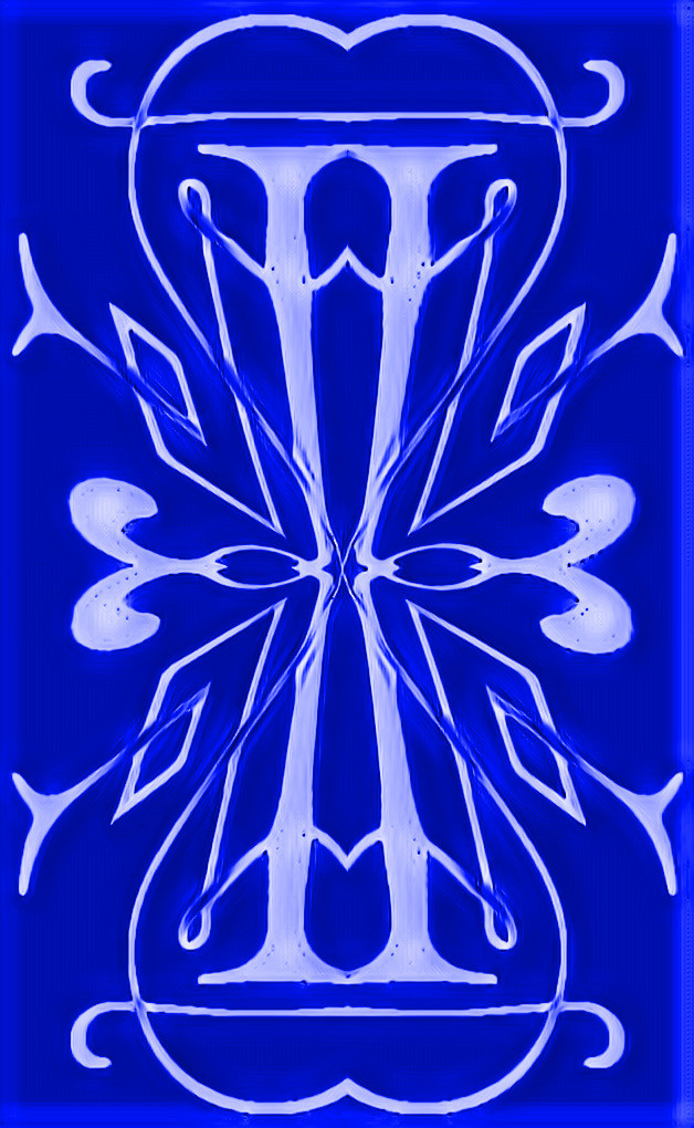 #sfghandmade #blue #icy #iceblue #design #scrolls #victorian #picsarteffects