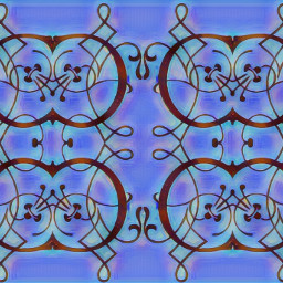 freetoedit sfghandmade backgrounds victoriandesign patterns blue coppercolor scrollwork picsarteffects