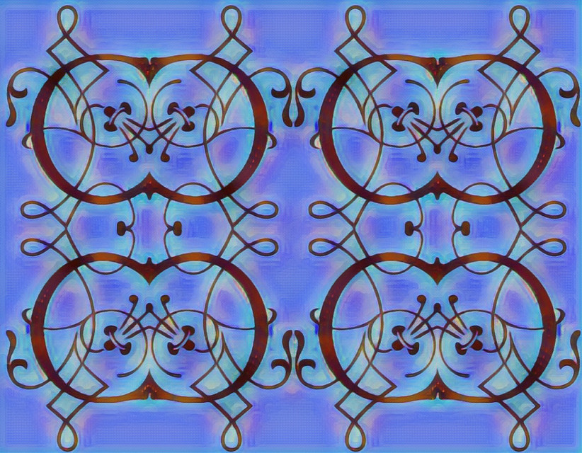 #sfghandmade #backgrounds  #victoriandesign #patterns #blue #coppercolor #scrollwork #picsarteffects