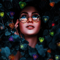 picsart picsartchallenge diamond freetoedit srcshinycrystals shinycrystals