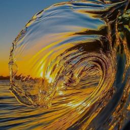 wave sea freetoedit