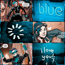 freetoedit bluebird dc dcomics harperrow batfam