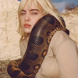 billieeilish snake freetoedit