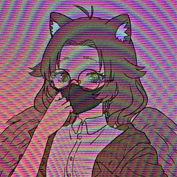 character tv tvstatic rainbow edit woah cool freetoedit