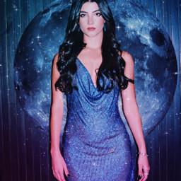 freetoedit girl aesthetic moon luna dress glow golden neon book charlidamelio charli outfit