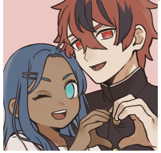 MORE SPADE AND NOVA PIC CREWS!!!! I LOVE THEM SO MUCH- spade isnt as feminine as usual but AAAAAA THEYRE SO CUTE     #cute #piccrew #awe