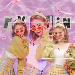 y2k kpop itzy ryunjin y2kaesthetic instagram girlgroup kpopgirl kpopedit ryunjinedit itzyedit purple fail plaid polyvore itzykpop freetoedit