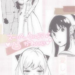spyxfamily anime aesthetic kawaii icon cute wallpaper animewallpaper animeedit animeaesthetic animeicon animesoft freetoedit