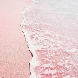 freetoedit pastel background pastelbackground water sand pink blue