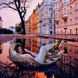 girl boat aestheticedit aesthetic pinterestimage freetoedit ircthebeautyinhaze thebeautyinhaze