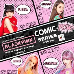blackpink blackpinkfans comic freetoedit