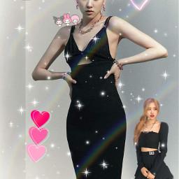 blink rose black_pink south_korea edit k_pop k_poper freetoedit