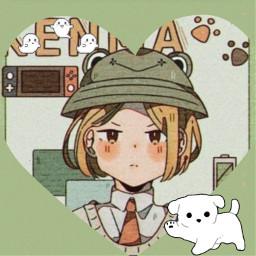 кенма аниме пёс freetoedit