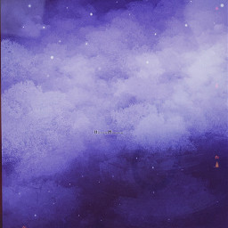 boat digitalpainting art myart clouds lake water nighttime indigoaesthetic stars sky forest iwasgoingtoaddliketwopinetrees buttheylookedweirdsoierasedthem notfreetoedit