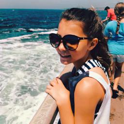 sunnyweather challange amberrose boat summertime sunglasses waves wind breeze hotsummerday picsart makeswesome myownphotography noedits noremix pcsunnyweather