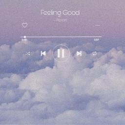freetoedit cloud clouds sky music play feelinggood quote purple blue pretty ninahayess rcfeelinggood