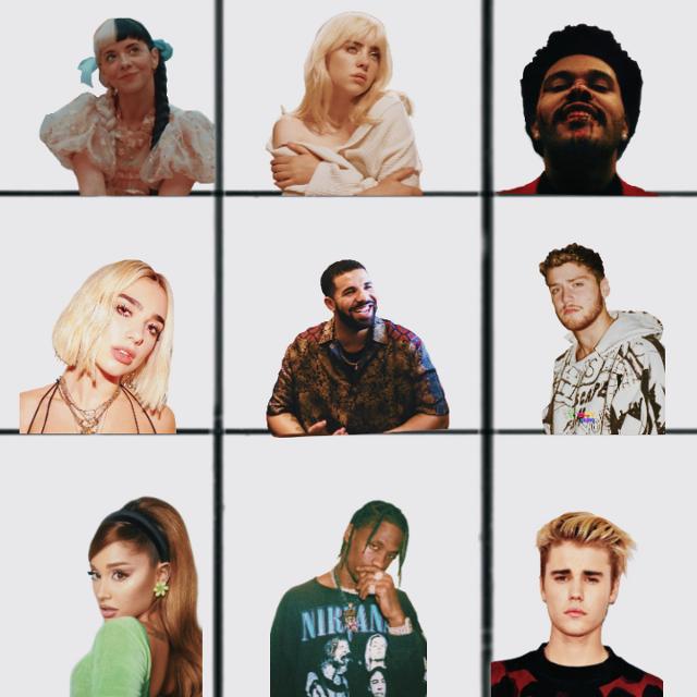 What is your favorite singer or rapper #melaniemartinez  #billieeilish #theweeknd #dualipa #drake #bazzi  #arianagrande #traviscott  #justinbieber
