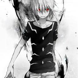 freetoedit anime animeboy аниме анимекун анимемальчик псих psiho boy otaku отаку