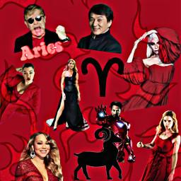 aries zodiac celebs freetoedit