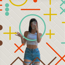 charli charlidamelio srcgeometricshapes geometricshapes freetoedit