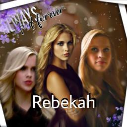 rebekah collage tvd alwaysandforever freetoedit
