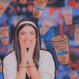 freetoedit dunkin charlidamelio edit aesthetic replay icedcoffee