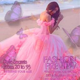 vogue pink pinkaesthetic aesthetic butterfly butterflies pinkprincess prom promdress magazine voguepink magazinecover fashionpreview stylesecrets freetoedit