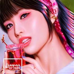 kpop kpopedit canrnve_edit ibispaintx 2021 twice momo twice_momo freetoedit