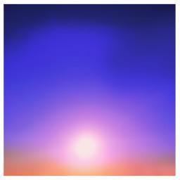 sky sunset blacklight freetoedit